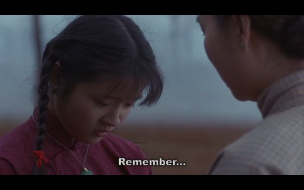 "race in film the joy luck club mirror motion picture commentary easy "" p s the one part of the joy luck club"