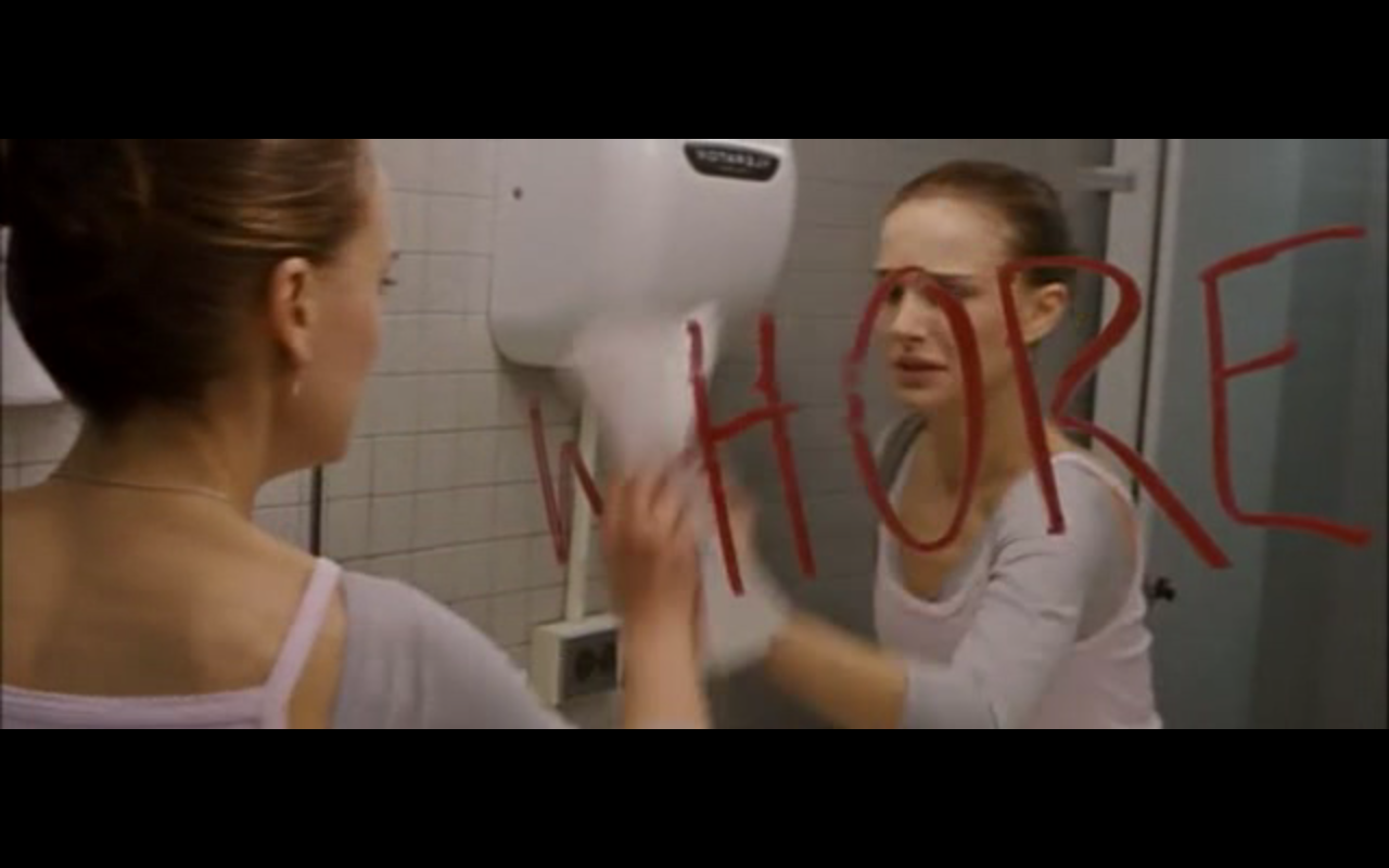 For. Black Swan And Bathrooms   Mirror  Motion Picture Commentary